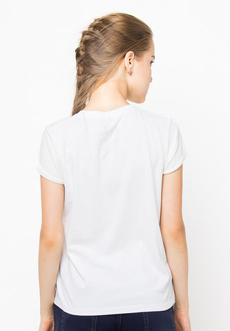 END-PF078/TSHIRT-H-KNACKERED-WHITE-F