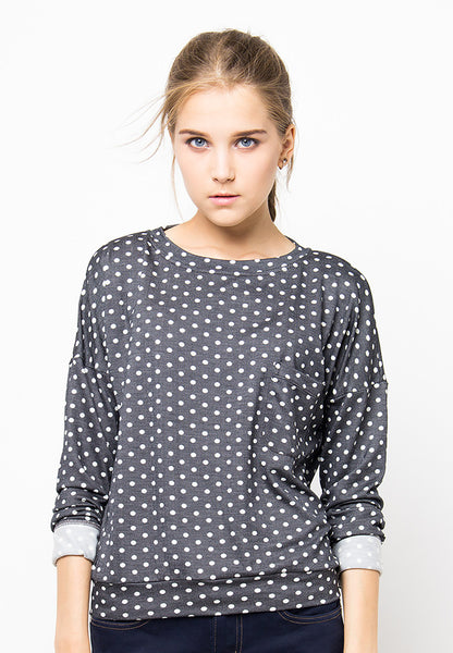 END-PF098/SWEATER-R-VELYN-POLKA-GREY-F