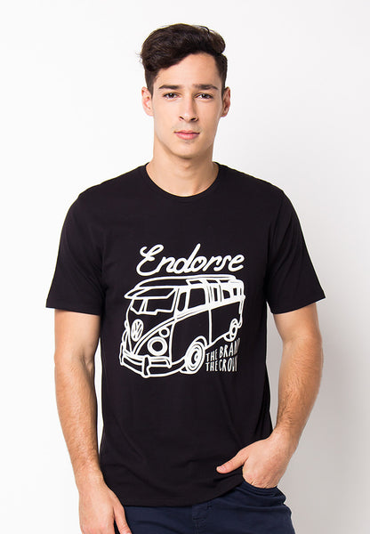 END-PF115/TSHIRT-WL-COMBI-BLACK-M