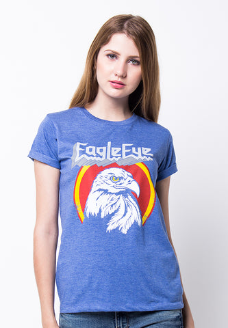 END-PF126/TSHIRT H EAGLEEYE MISTY BLUE-F