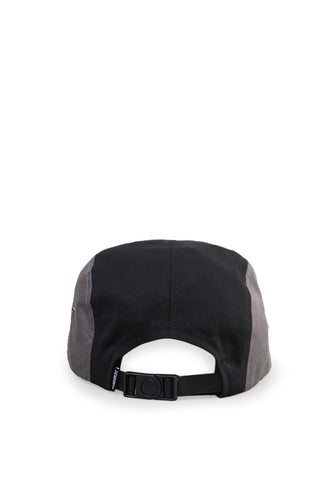 END-PF137/HAT-KD-5PNL-LOGOFLAG-BLACKGREY
