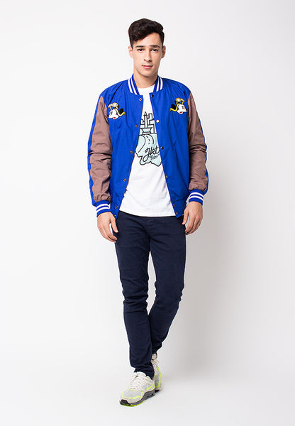 END-PG018/JACKET-I-SUKAJAN-MICKEY-BLUE-M