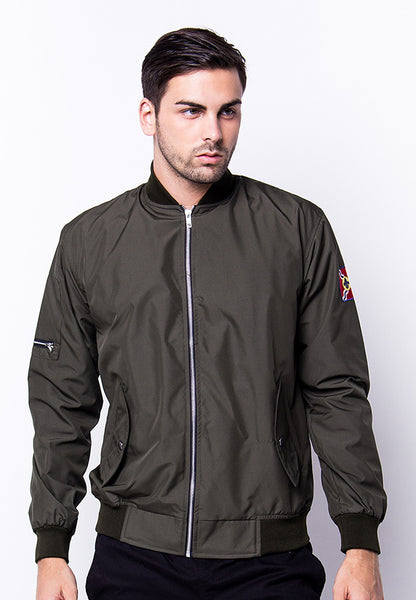 END-PG024/JACKET-I-BOMBER-FLAG-TYLER-GREEN-M
