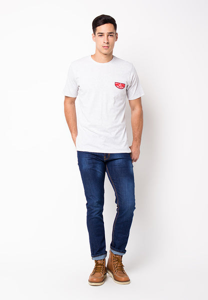END-PG034/TSHIRT-WL-PAIN-MISTYWHITE-M