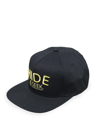 END-PH002/HAT-E-SNAPBACK-CLASSIC-HIDE-BLACK