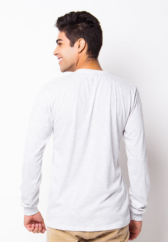 END-PH008/TSHIRT-H-LS-PATIENCE-MISTY WHITE-M