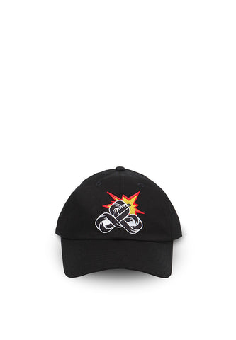 END-QA011/HAT-KD-POLO-LOGO-BLACK