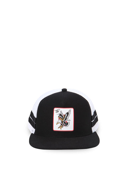 END-QA016/HAT-KD-TRUCKER-THEEAGLE-BLACKWHITE