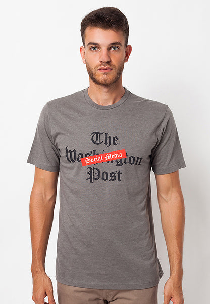 END-QA018/TSHIRT-WL-POST-TWOTONEGREY-M