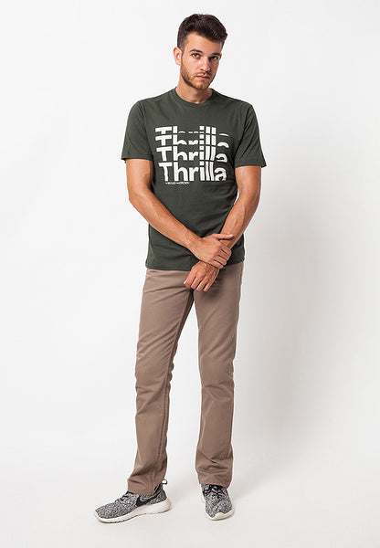 END-QA021/TSHIRT-WL-THRILLA-GREEN-M
