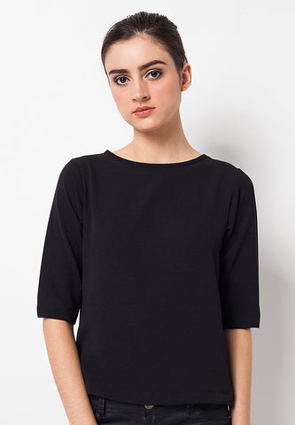 END-QC002/BLOUSE-R-REVECA-TL-BLACK-F