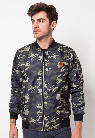 END-QC008/JACKET-I-BB-CAMO-NDRS-GREEN-M