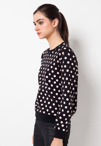 END-QC010/SWEATER-R-EMMA-POLKA-BLACK-F