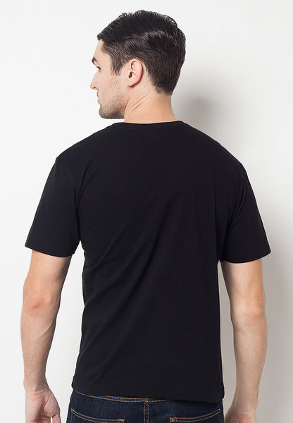 END-QF002/TSHIRT-E-WASTEYOURYOUTH-BLACK-M