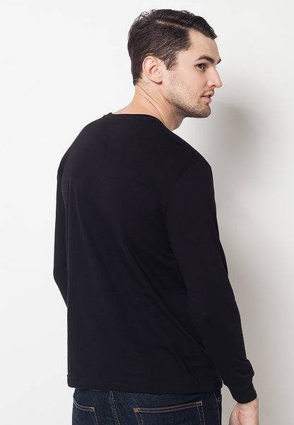 END-QF005/TSHIRT-E-LS-PROPERTY-BLACK-M