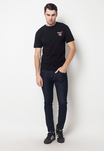 END-QF007/TSHIRT-E-HIGHLIFE-BLACK-M