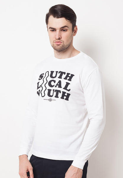 END-QF019/TSHIRT-E-LS-SOUTH-WHITE-M
