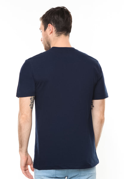 END-RD002/TSHIRT-E-MELTEDBORDIR-NAVY