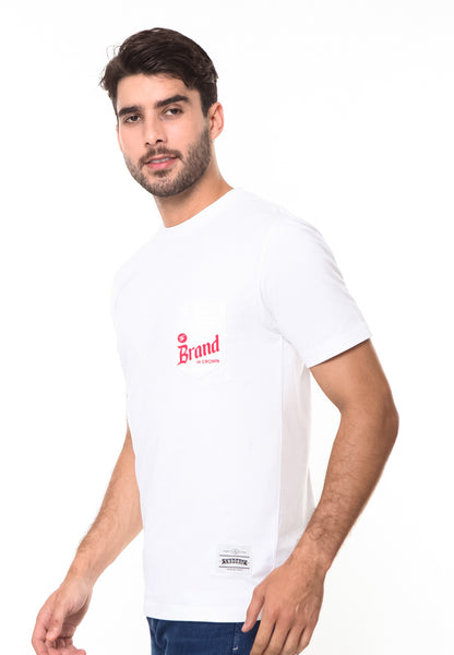 END-RE001/TSHIRT-AYD-BADGE-WHITE-M