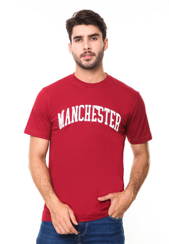 END-RE008/TSHIRT-SYN-MANCHESTER-RED-M