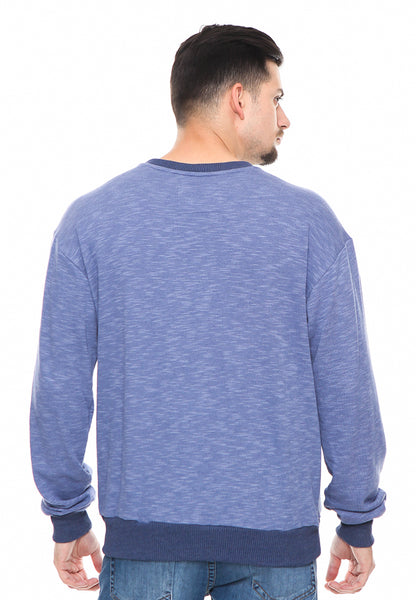 END-RF006/SWEATSHIRT INO CHAOS BLUE