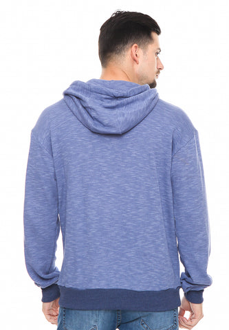 END-RF007/SWEATER INO CP CHAOS BLUE