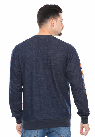 END-RF009/SWEATSHIRT INO THINK DARKBLUE