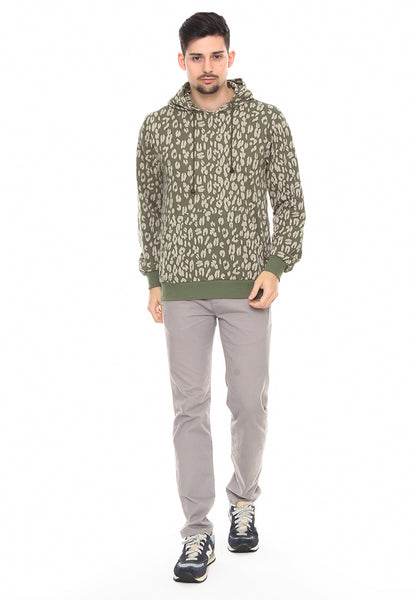 END-RF013/SWEATSHIRT INO CP LEOPARD ARMY