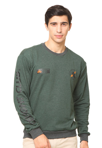 END-RF020 / SWEATSHIRT INO FUEL GREEN M