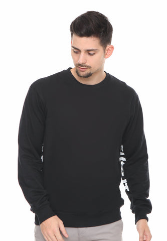END-RF028/SWEATSHIRT SYN FLAG BLACK M