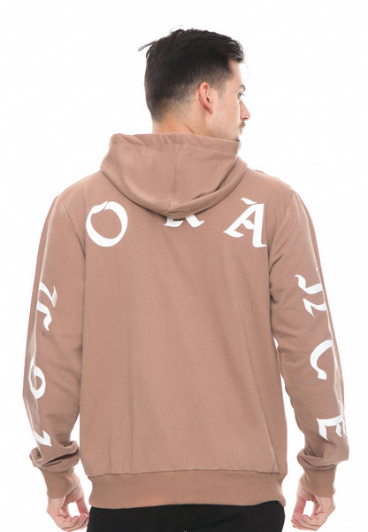 END-RF029/HOODIE SYN IGNORANCE BROWN M