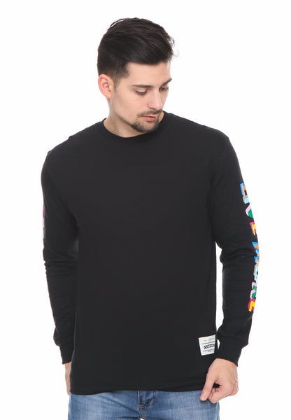 END-RF030/TSHIRT SYN LS THINKLESS BLACK M