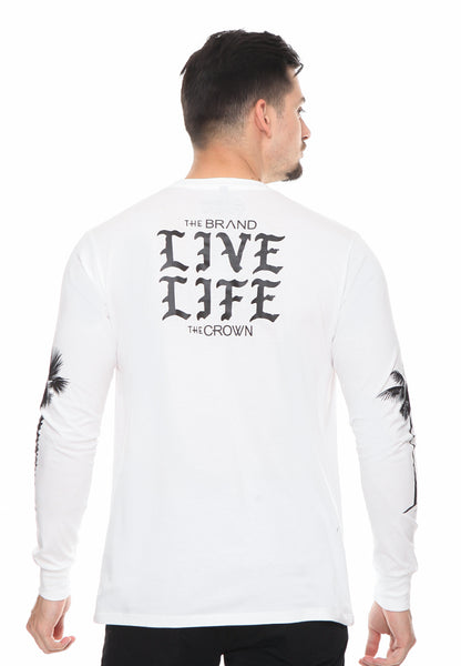 END-RG005/TSHIRT LS SYN LIVELIFE 2 WHITE M