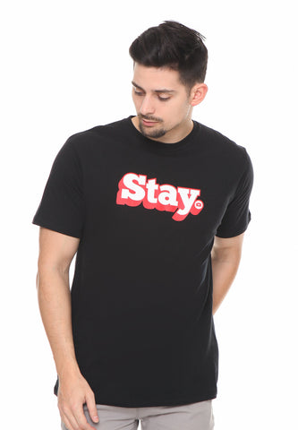 END-RF038/TSHIRT SYN STAY BLACK M