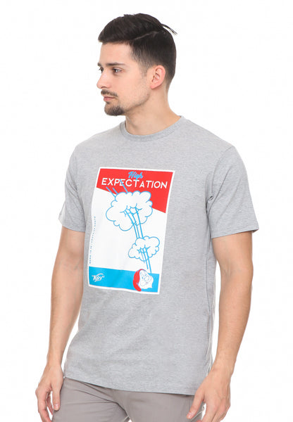 END-RF039/TSHIRT SYN EXPECTATION GREY M