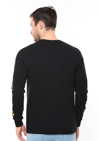 END-RF046/TSHIRT SYN LS TIN BLACK M
