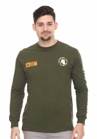 END-RF047/TSHIRT SYN LS VETERAN GREEN M