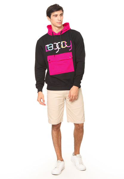END-RG003 / SWEATER SYN LEGACY PINK BLCK M