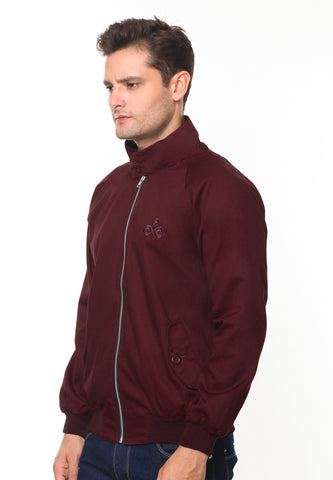 END-RH002/JACKET I HARRINGTON MAROON-M
