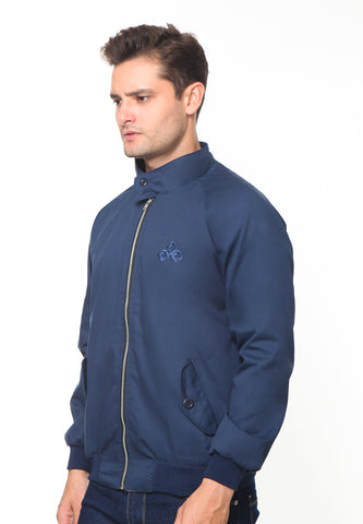END-RH003/JACKET I HARRINGTON NAVY-M
