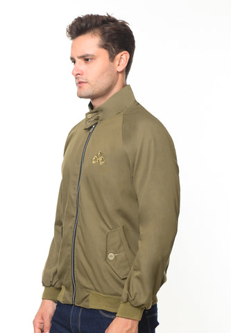 END-RH004/JACKET I HARRINGTON BROWN-M