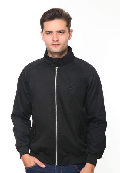 END-RH005/JACKET I HARRINGTON BLACK-M