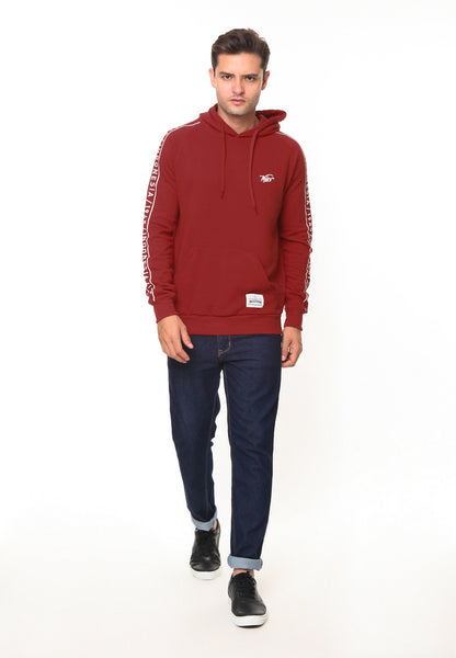 END-RH008/SWEATER ED RED45 HOODIE RED-M
