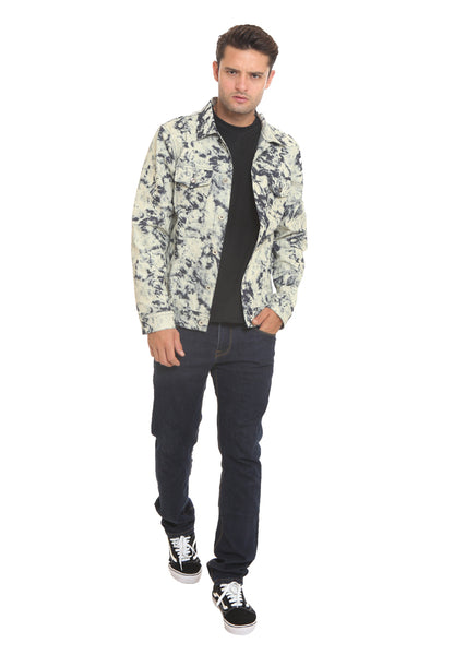 END-RI001/JACKET I DENIM WASH OFFWHITE M