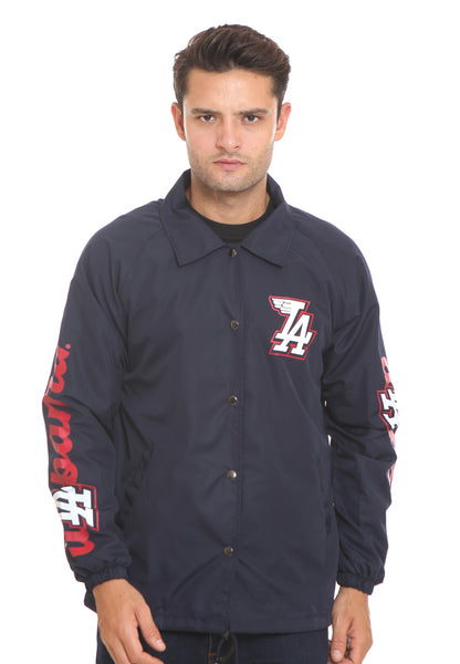 END-RI002/JACKET I COACH LA NAVY M