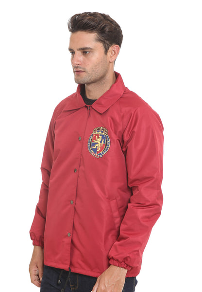 END-RI003/JACKET I COACH LION RED M