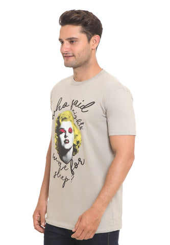 END-RI010/TSHIRT H MONROE WHO SAID GREY M