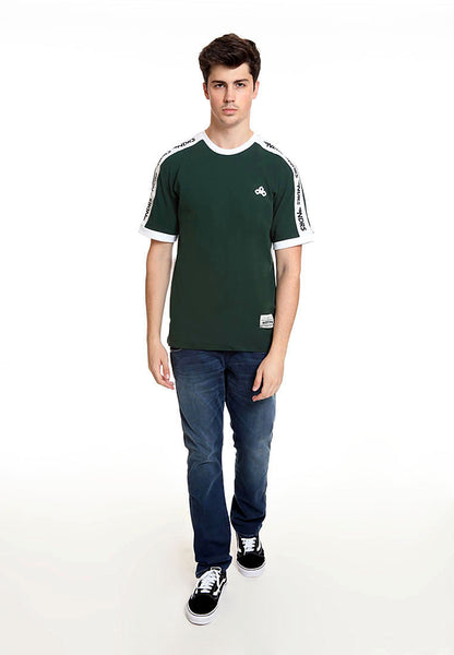 END-RK005/TSHIRT E NDRS STRIPE GREEN M