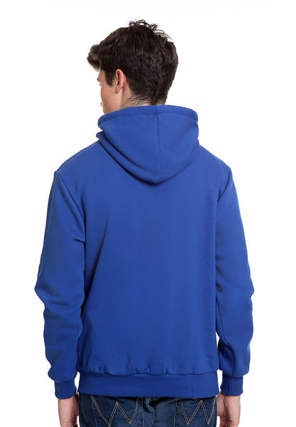 END-RK006/SWEATER HOODIE COLD BLUE M