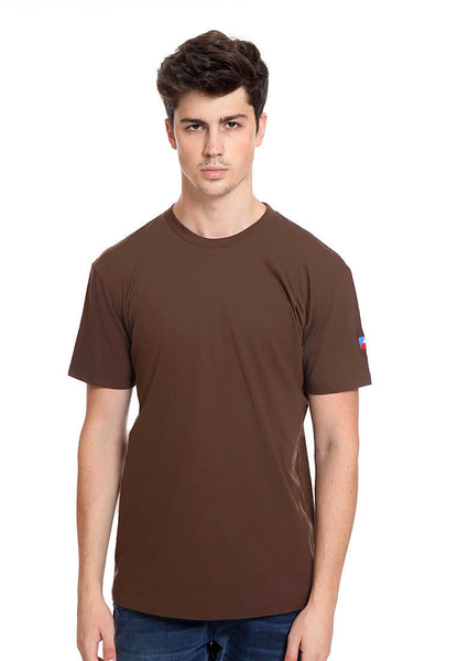 END-RK011/TSHIRT H FLAG BASIC BROWN M